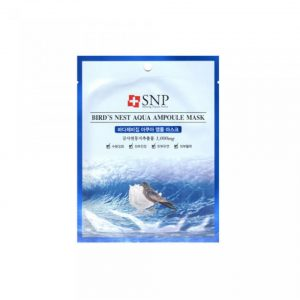 SNP Bird's Nest Aqua Ampoul Mask1