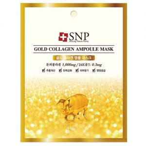 SNP Gold Collagen Ampoul Mask1