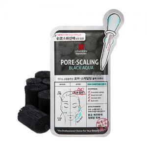 Stepsolution Pore-Scaling Black Aqua Mask
