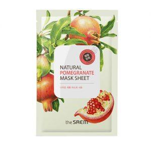 natural pomegranate mask