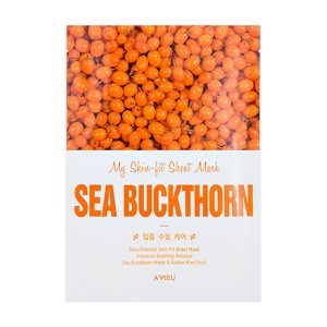 A'PIEU Skin- Fit Sheet Mask Sea Buckthorm