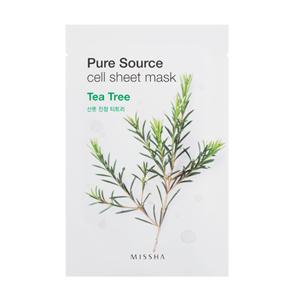 missha pure source cell sheet mask tea tree