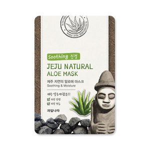 welcos jeju natural aloe mask soothing