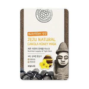 welcos jeju natural canola honey mask nutrition