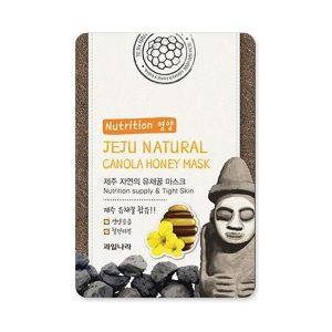 welcos jeju natural canola honey mask nutrition