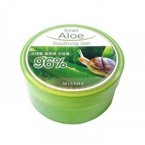 Missha Snail Aloe Soothing Gel